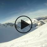 Sortie de ski de randonnée à la Rouelle en Janvier 2012