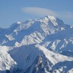 Vur sur le Mont-Blanc depuis la Tournette