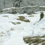 Coulées sur le versant Sud du massif